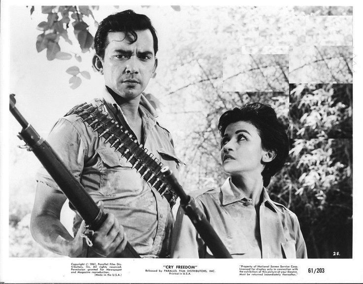 https://flic.kr/p/Mra4Qj | Pancho Magalona and Rosa Rosal in CRY FREEDOM (1961)