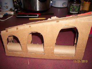 Love this aqueduct for #homeschool history!