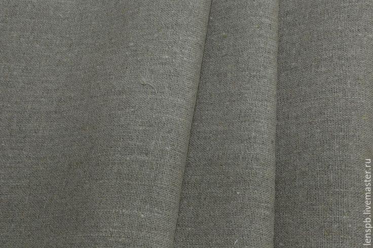 Купить Серые шторы из льна на кулиске - шторы серые, шторы из серого льна