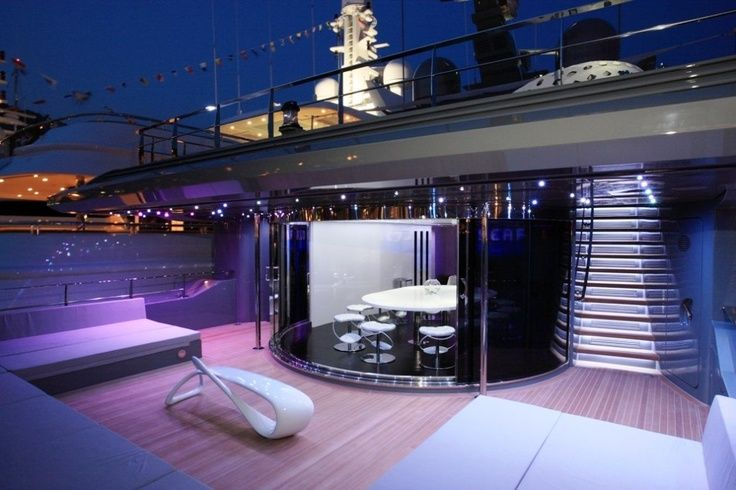 Modern mega yacht......