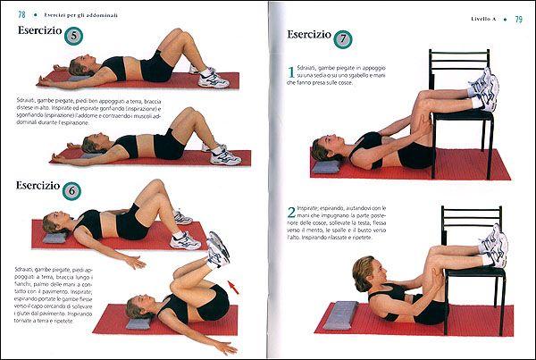 Esercizi per Addominali: Alti, Bassi e Obliqui