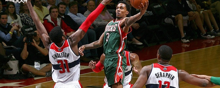Catch the Milwaukee Bucks playing at the Bradley Center.