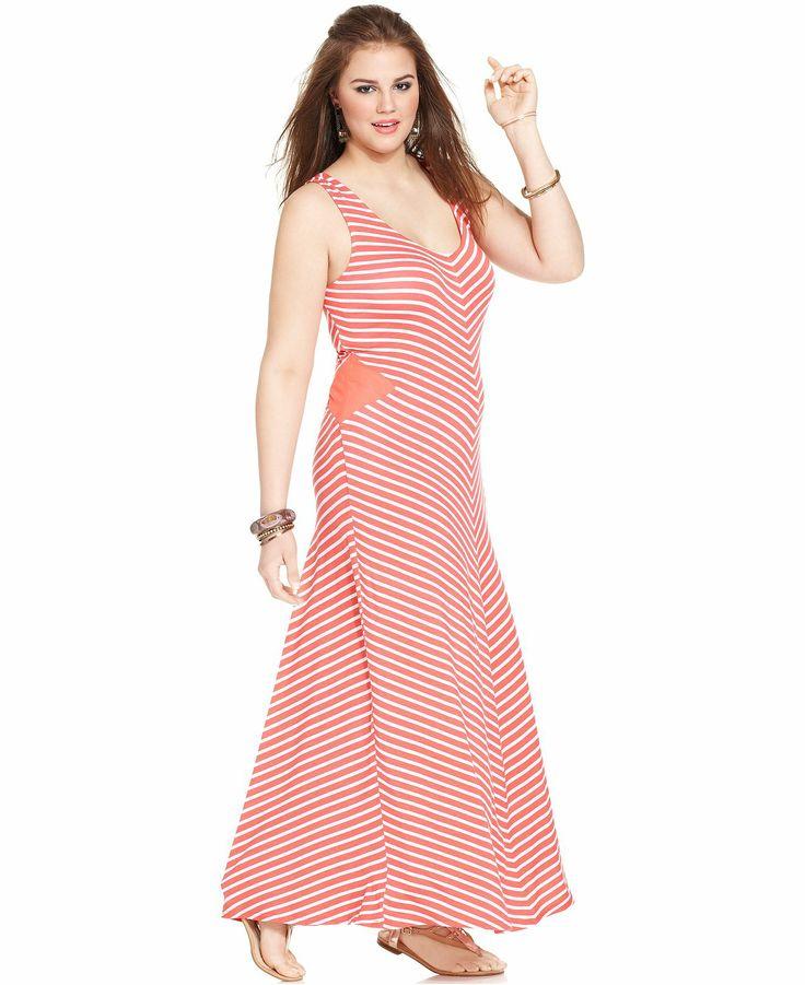 American Rag  Chevron Maxi Dress Macy's