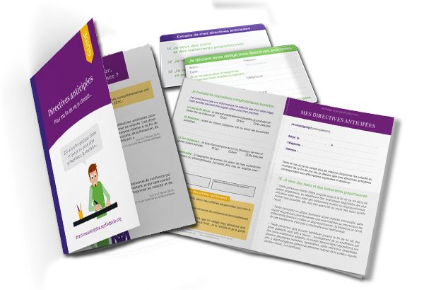 Guide + formulaire des directives anticipes