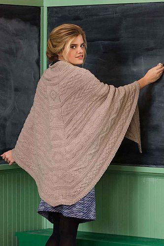 Guernsey Shawl.  Mone Dräger.  Knitted wrap or shawl.  Love of Knitting Fall 2017 saved to Evernote/ iBooks.  10ply 183m/100g x 6