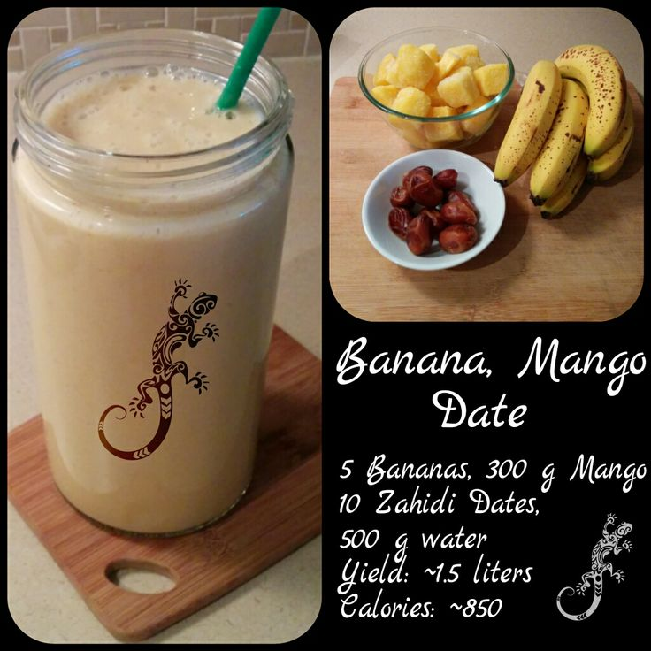 Banana, Mango, Date