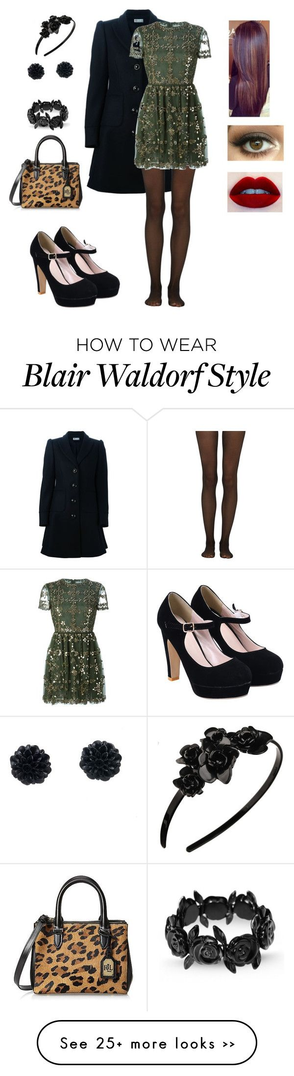 """Blair Waldorf | Gossip Girl | NYC | Winter"" by juliakp1234 on Polyvore"