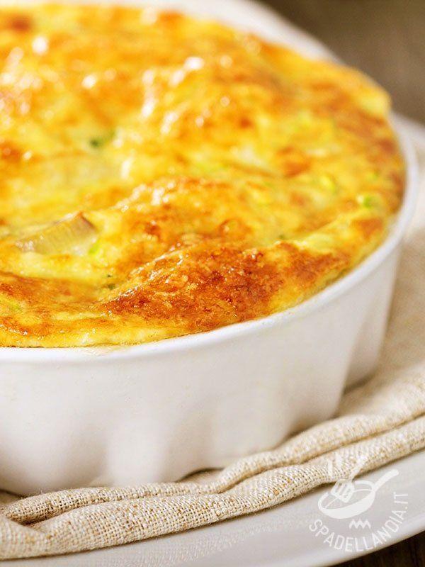 Leek and potato gratin with Fontina Cheese - Porri e patate gratinati alla fontina: una ricetta gustosissima per reinventare gli ortaggi di stagione e le patate in un piatto da leccarsi i baffi!