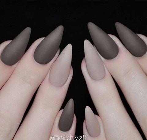 The 25+ best Grey matte nails ideas on Pinterest | Matt ...