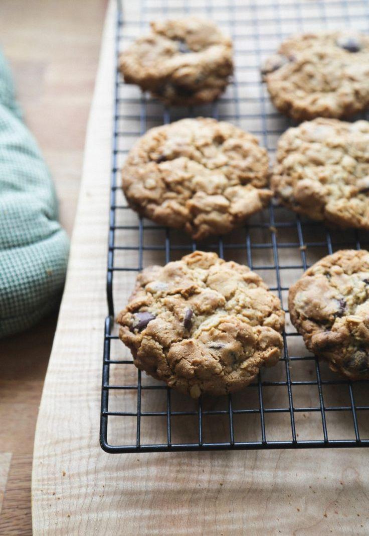 gluten-free dairy-free cowboy cookies