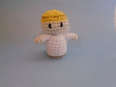 Angeli Amigurumi Tutorial : 1000+ images about Christmas angels on Pinterest Angel ...