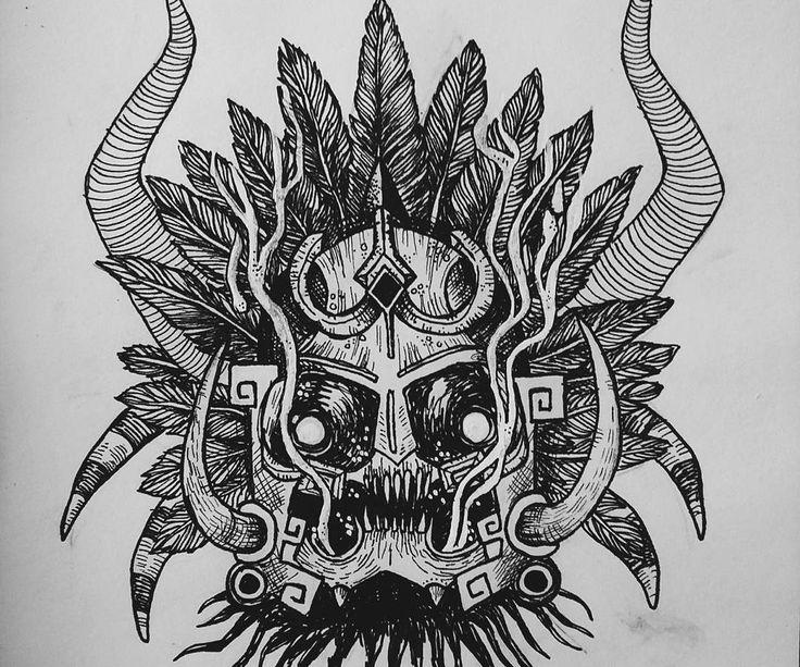 """""""Cuando el tecolote canta, el indio muere"""" es un viejo refrán, creado en alusión a Ah Puch, también conocido como Yum Kimil, dios de la muerte y de Xibalbá."""