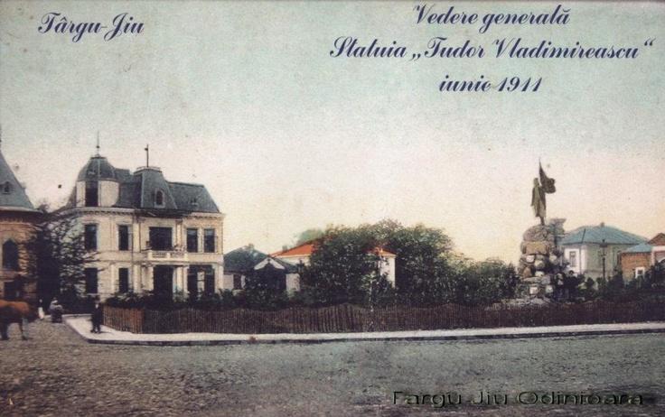 Targu Jiu - Statuia Tudor Vladimirescu - 1911