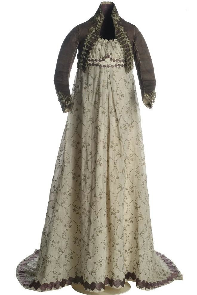 Dress and Spencer Jacket c.1810s