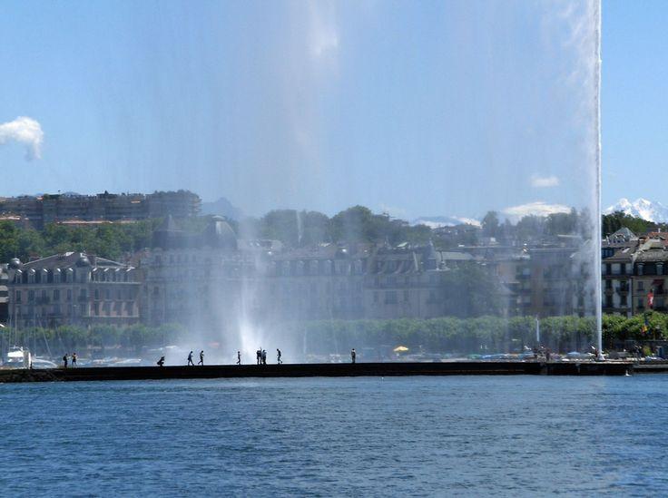 Underneath the fountain