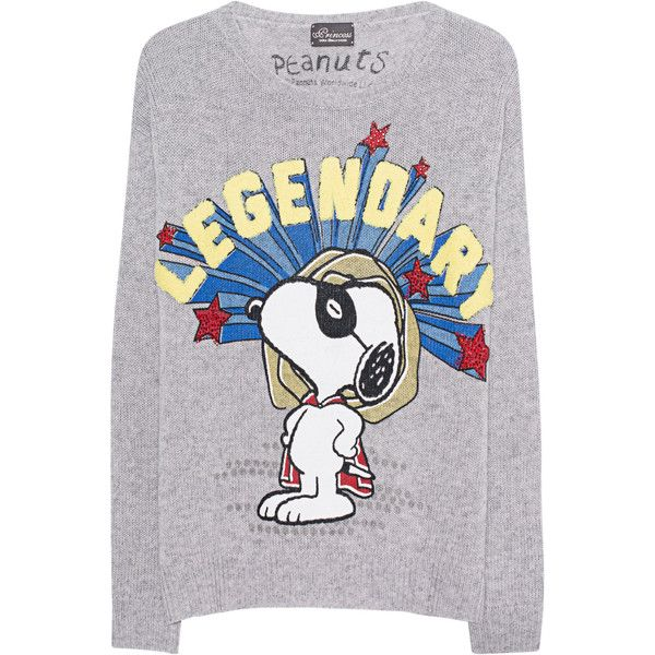 Princess Goes Hollywood Snoopy Legendary Grey Fine Knit Pullover 245 Liked On Polyvore Feat With Images Vintage Pullovers Vintage Sweaters Grey Pullover Sweater