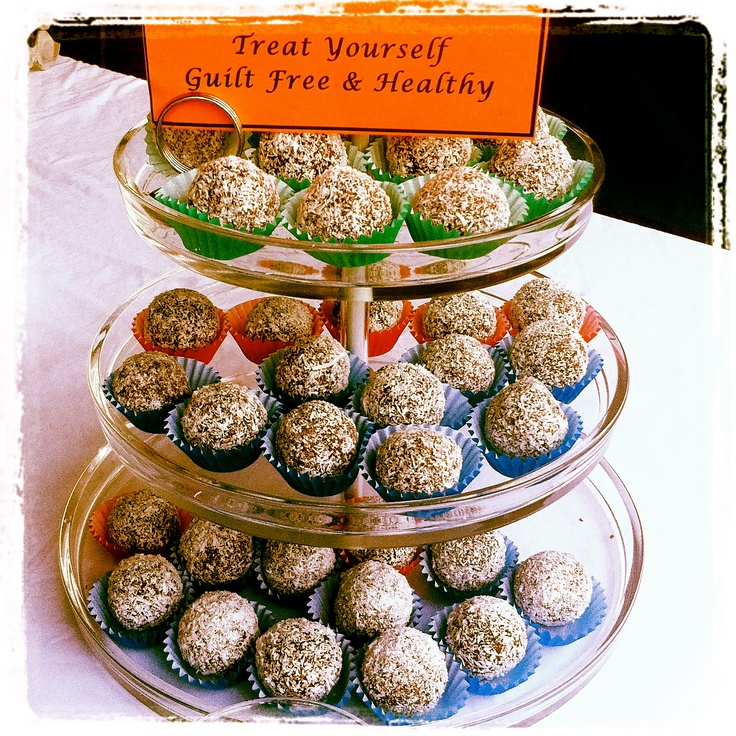 Double Chocolate Fruit Balls. Raw, Organic and with Activated Quinoa