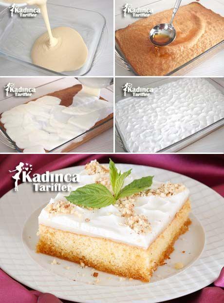 Karamelize Şerbetli Pasta Tarifi