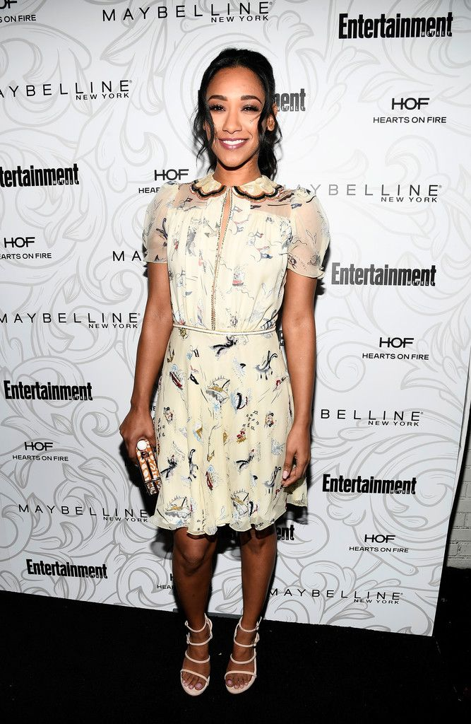 Candice Patton attends Entertainment Weekly's SAG Awards Celebration