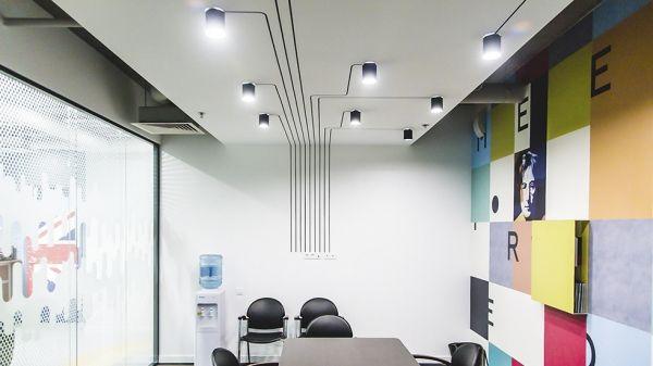 Система освещения нового офиса «Энергопром» / Дизайн интерьера / Архимир