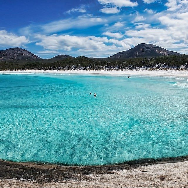 Hellfire Bay, located within Cape Le Grand National Park in Esperance, Western…