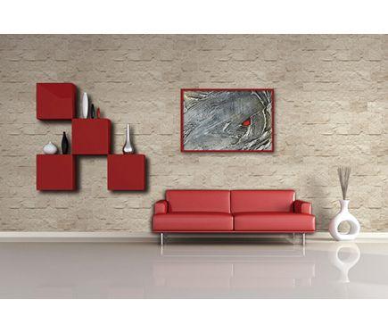 Panel de poliuretano con acabado piedra panespol piedra - Panel decorativo poliuretano ...