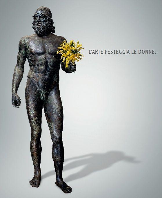 Festa delle donne!   e in tutti i musei italiani entrano gratis :)  Woman's Day