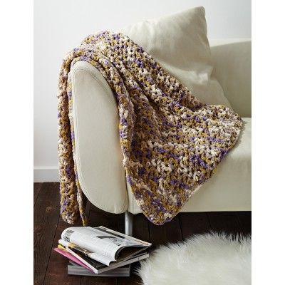 Easy Peasie Blanket - Crochet Patterns - Patterns   Yarnspirations