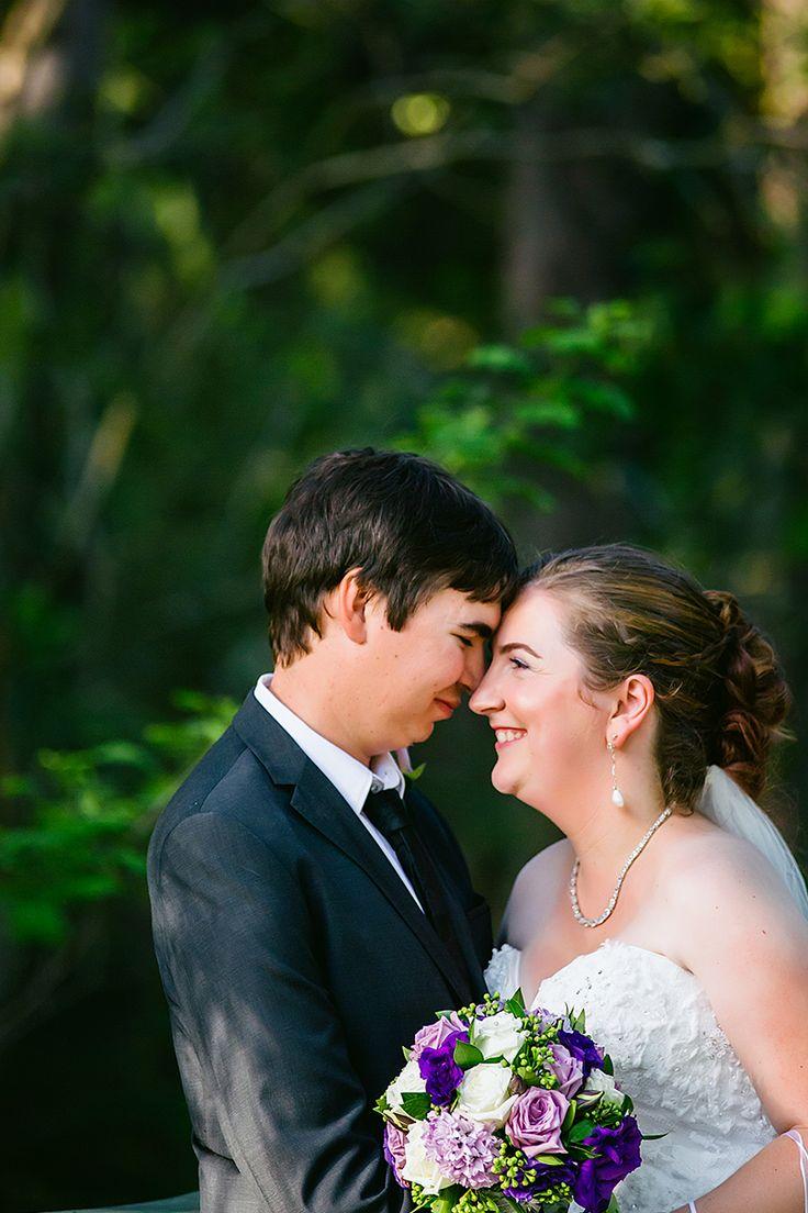Bride and Groom | Happiness - Just married | Coolibah Downs Wedding | Eliza Davis - Gold Coast Wedding Photographer |