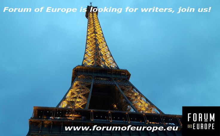 Hi, we are looking for writers for our website! Send us a message if you're interested! www.forumofeurope.eu  #writers #blogger #blog #website #culture #humaninterest #europe #eu #art #architecture #food #music #design #nederland #belgie #france #deutschland #italia #italy #espana #spain #greece #poland #ukraine #czech #hungary #serbia #croatia #romania #bulgaria #baltic