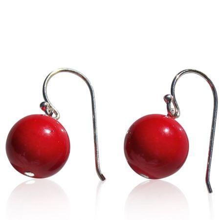 Cute red earrings