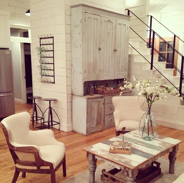 Joanna gaines farmhouse pinterest glass holders joanna gaines and railings Joanna gaines home design ideas