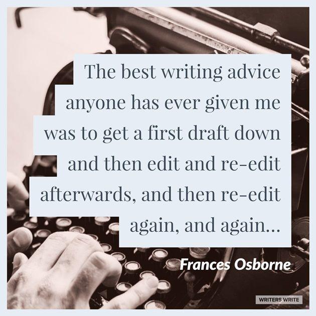 Quotable – Frances Osborne - Writers Write