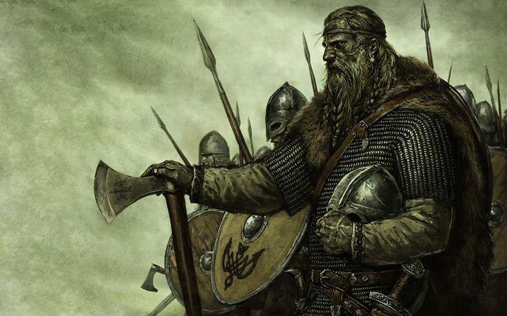 Mount & Blade. Vikings. Viking warrior. Barbarians and vikings. Viking character, viking art.