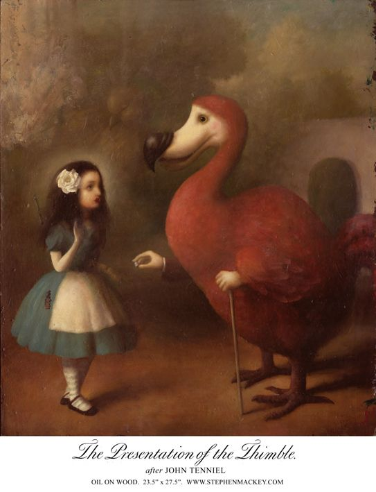 Stephen Mackey - The Presentation of the Thimble (after John Tenniel)
