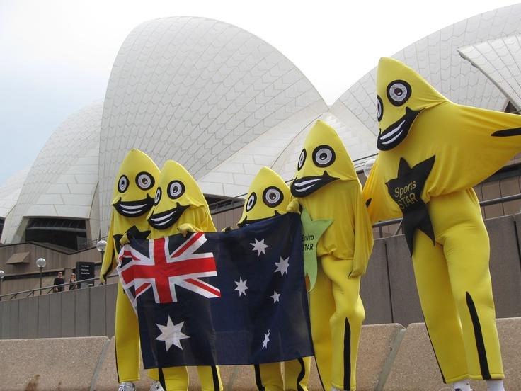 AussieSTARS in front of the Sydney Opera House, Australia
