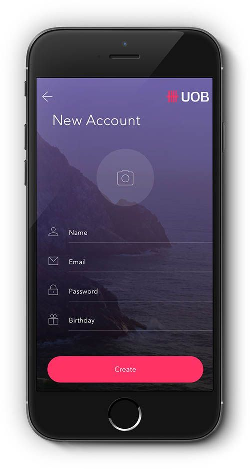 Login and Signup Screen By Ankit Raina