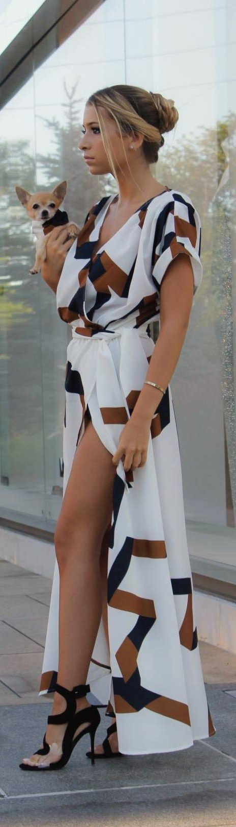 Maxi Love // Dress: Shop Glamour Girl | Shoes: Giuseppe Zanotti (Steven Dann) // Fashion Trend by Style With Trix