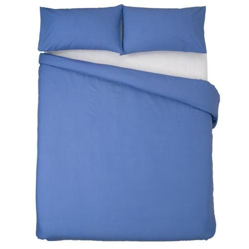 Combed Polycotton   144 Thread count   Rich colour   Matching pillowcase(s)   Durable   Easy Careimpurities ensuring that luxurious feel and is durable and easy to care for. Incl. 2 pillow cases.