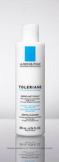 Toleriane Skin Cleanser–my favorite gentle cleanser for dermatitis; use jojoba oil afterwards.