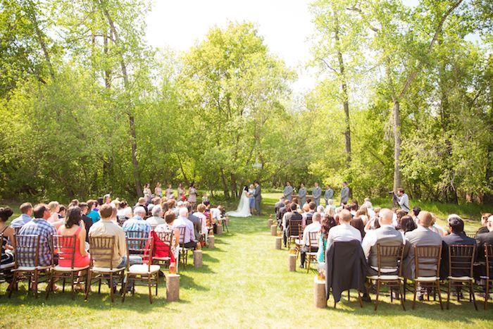 Edmonton Outdoor Ceremony Venue EPA Blue Meadows Weddings