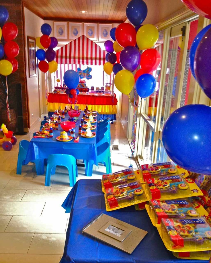 17 best images about the wiggles 1st b day party on for B day party decoration ideas