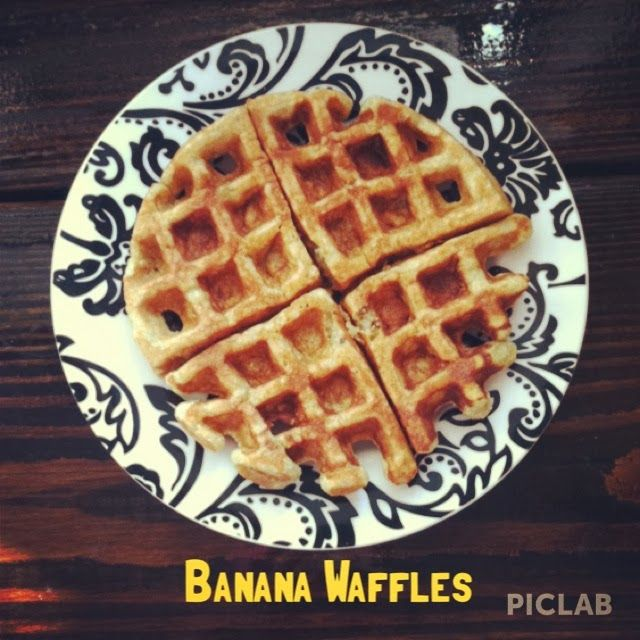 ... Banana Waffles | Brunch | Pinterest | Waffles, Bananas and Adventure