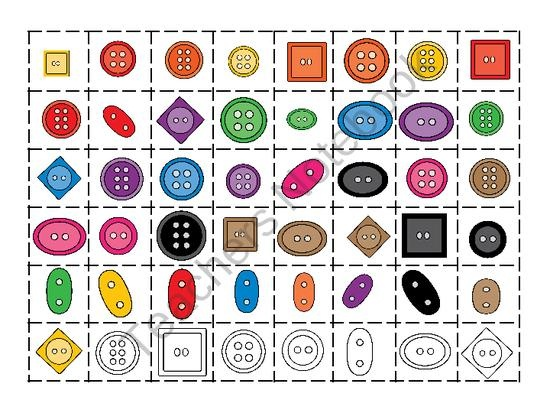 Math Sorting Centers without the use of expensive plastic shape math manipulatives. Print, Cut-out, and Laminate. Sort by Color, Sort by Shape, Sort Size