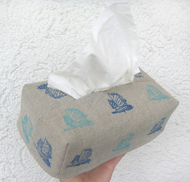 Чехол для бумажных салфеток / Tissue cover | Flickr - Photo Sharing!