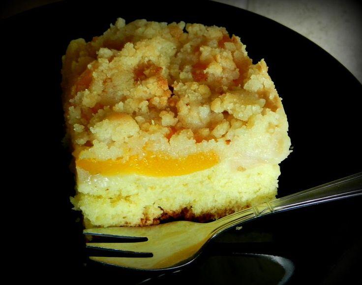 Ciasto drożdżowe z owocami i kruszonka...
