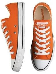 There's this really perverse part of me that just wants to wear orange converse under my dress.