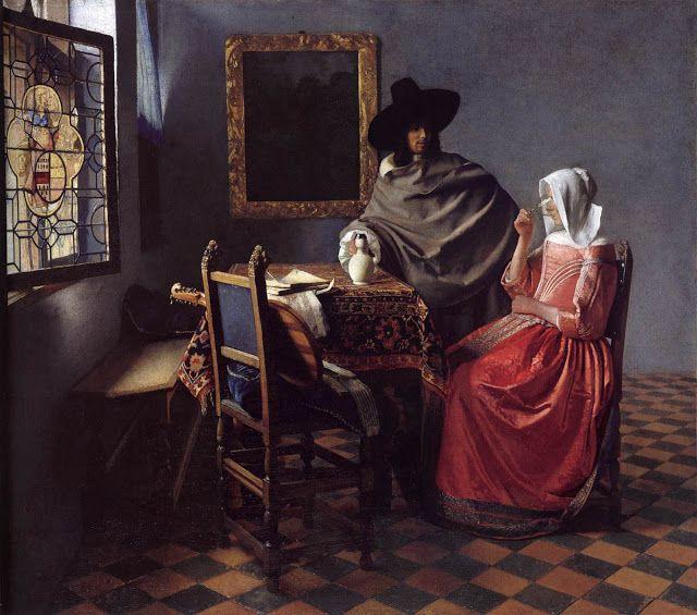Ποτήρι του κρασιού. (1658 ή 1660)