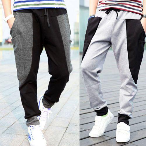 Mens Casual Jogger Dance Sportwear Baggy Harem Pants Slacks Trousers Sweatpants #Unbranded #CasualPants