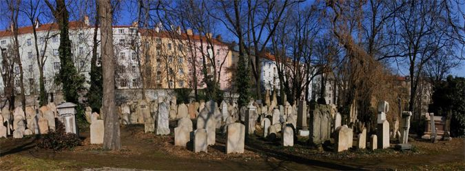 Jewish cemetery in Žižkov. In the 17th and 18th centuries, neighboring Prague suffered a number of plague outbreaks, prompting an urgent search for burial grounds beyond the city walls. Žižkov was chosen, leading to the establishment of the enormous Olšany cemeteries, Prague's largest.